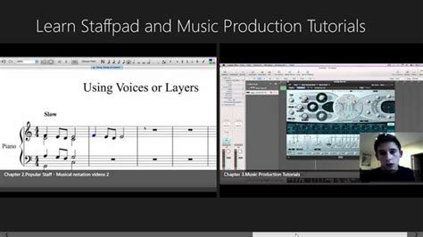 tutorial video production learn staffpad and music production tutorials for windows
