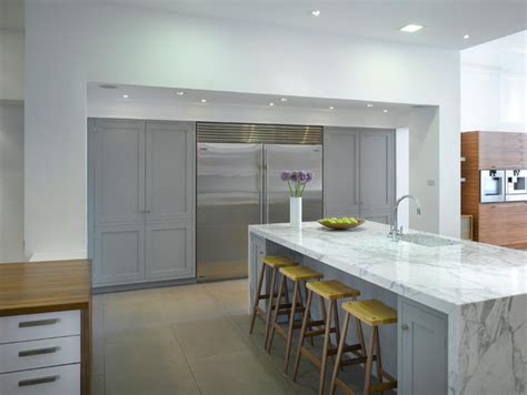 Latest Italian Kitchen Designs by Roundhouse Kitchen Materials Contemporary Kitchen