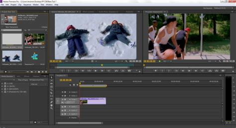 Quick Look The Premiere Pro Cs6 Workspace The Beat A Blog By Premiumbeat Premiere Pro Templates Cs6