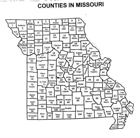 missouri map counties printable atlas of missouri vascular plants with dot maps
