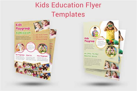 kids education flyer templates flyer templates on