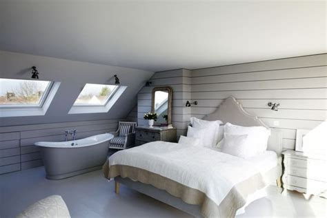 attic converted to bedroom master suite loft conversion with free standing roll top