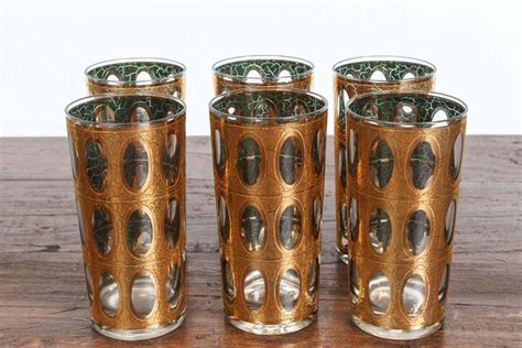 mid century barware vintage mid century culver pisa barware cocktail set at
