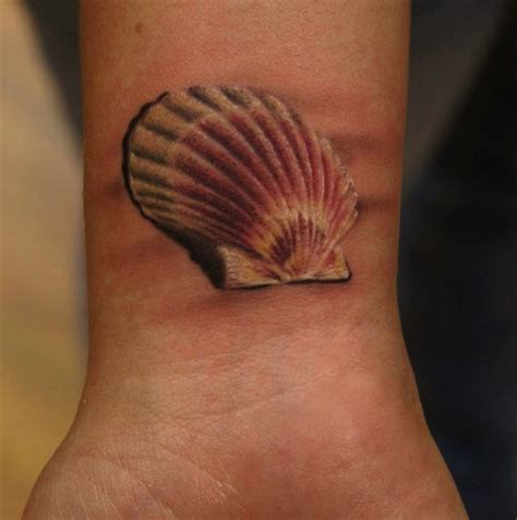 seashell tattoo seashell tattoos designs ideas and meaning tattoos for you