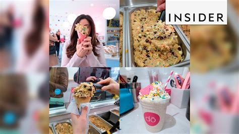Do Cookies Make You Shop by A Cookie Dough Shop Opened In Nyc And Are Losing It