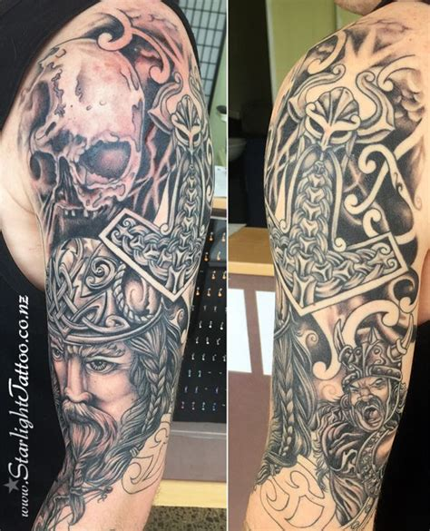 viking sleeve tattoo designs 17 best images about on norse mythology