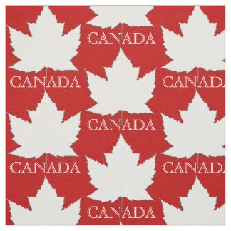 upholstery material canada canadian maple leaf fabric zazzle