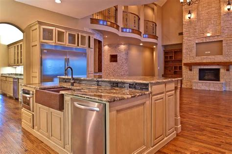 kitchen island designs with sink 68 deluxe custom kitchen island ideas jaw dropping designs