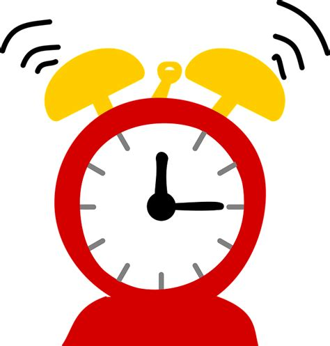 Alarm Vector free vector graphic alarm clock ringing sleep free image on pixabay 1294909