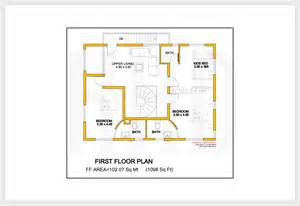 plan home 2172 kerala house with 3d view and plan