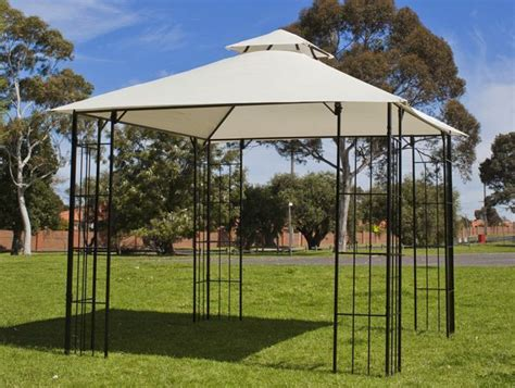 Steel Frame Gazebo 3x 3m New Steel Frame Outdoor Gazebo Marquee Sunshade Ebay