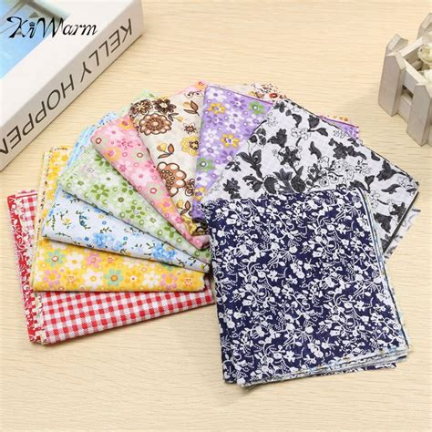 Home Decor Sewing by 7pcs Set Pre Cut Patchwork Cotton Fabric Quilting Floral
