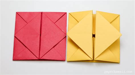 Make Envelope With Paper - origami envelope box paper kawaii