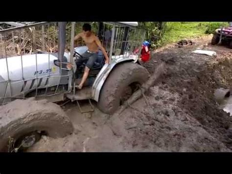 how to get dogs unstuck two wheel tractor yanmar stuck in mud funnydog tv