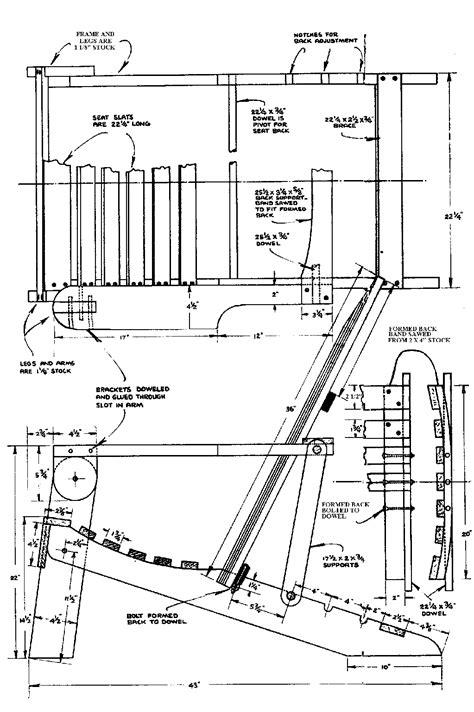 pdf plans chair plans adirondack wood plans baby