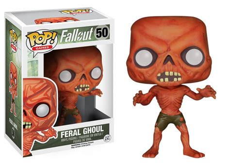 Funko Fallout Feral Ghoul Pop Vinyl 5854 new pop vinyls can handle the fallout of a post
