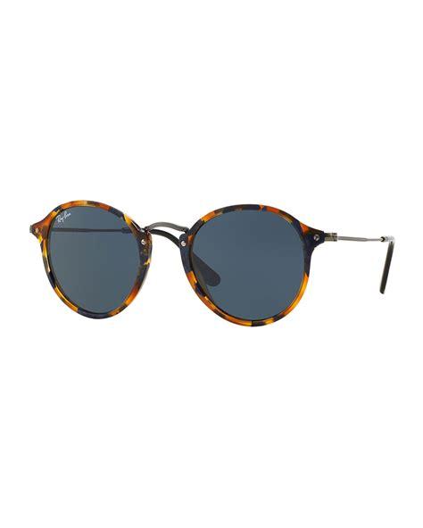 Sunglasses Rayban Metal ban plastic metal sunglasses in green black lyst