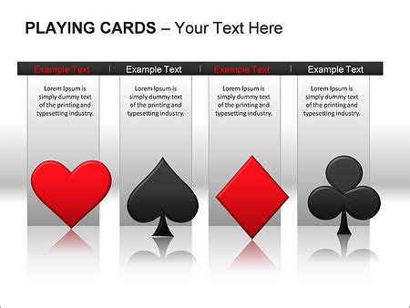 card powerpoint template cards ppt diagrams chart design id 0000002135