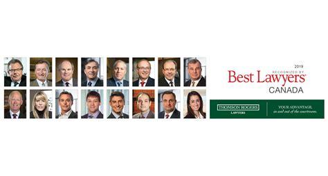 best lawyers best lawyers in canada 2019