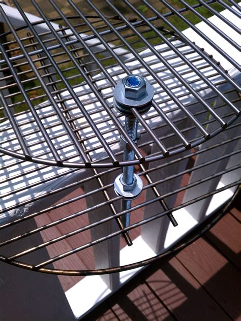 Big Green Egg Grate Rack by Diy 2 3 Tier Swing Grate For 20