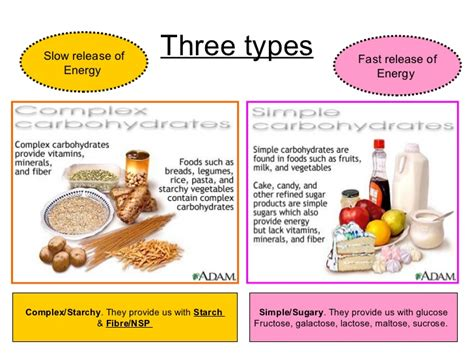 carbohydrates energy carbohydrates