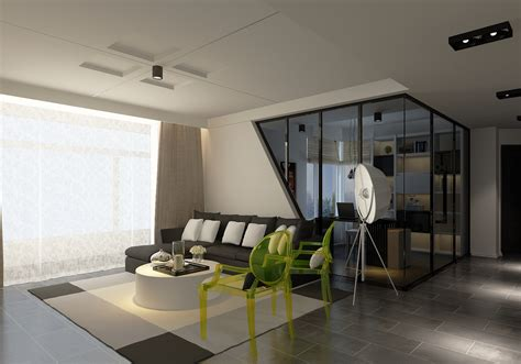simple ceiling design for modern living room 3d house