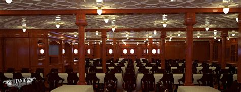 titanic 1st class dining room titanic s second class dining saloon by