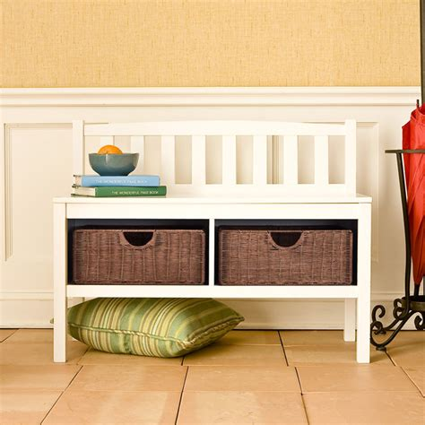 small storage bench with baskets 50 entryway bench design ideas to try in your home keribrownhomes