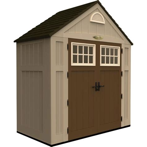resin storage sheds suncast storage shed 200 cu ft model bms7300 northern tool equipment