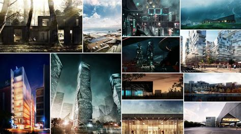 different styles of architecture 12 postwork style architectural visualization tutorials