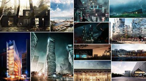 architecture styles 12 postwork style architectural visualization tutorials