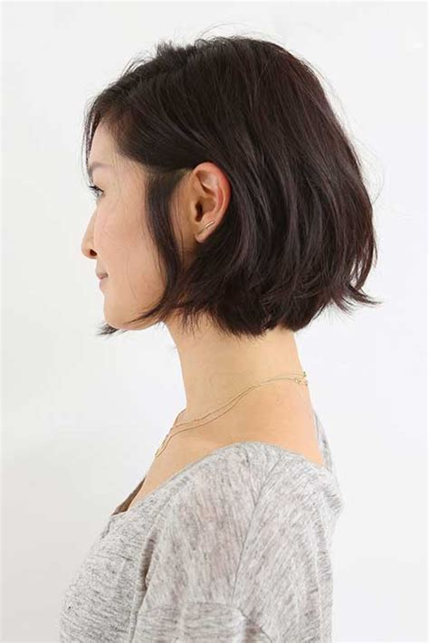 chin length layered bob with side bangs 15 unique chin length layered bob short hairstyles 2017