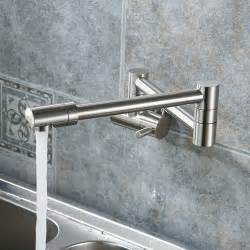 wall mount stainless steel puriscal double joint wall mounted stainless steel kitchen