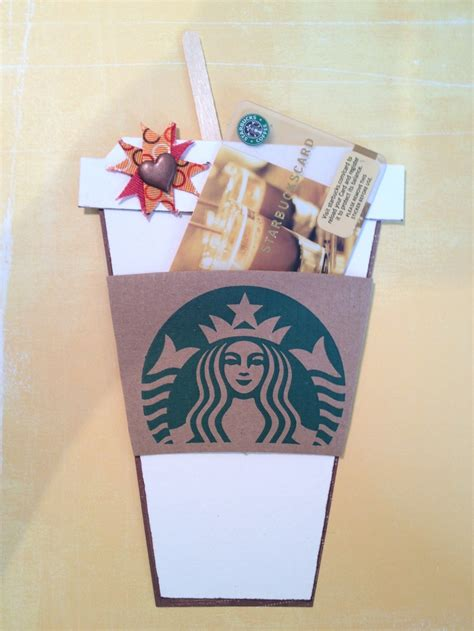 Starbucks Gift Card Pinterest - gift cards starbucks and gift card holders on pinterest