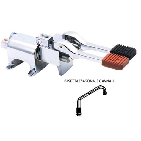 rubinetto lavello rubinetto per lavello lavamani a pedale con erogatore mod