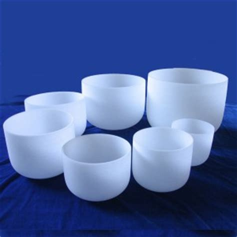 frosted crystal bowl chakra sets north carolina reiki