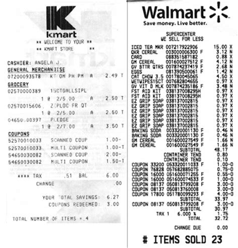 walmart receipts templates receipts at walmart briangorman7 s
