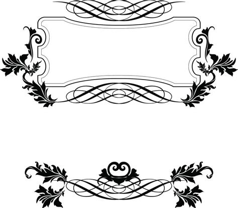border decorative element patterns vector european border pattern vector free vector 4vector