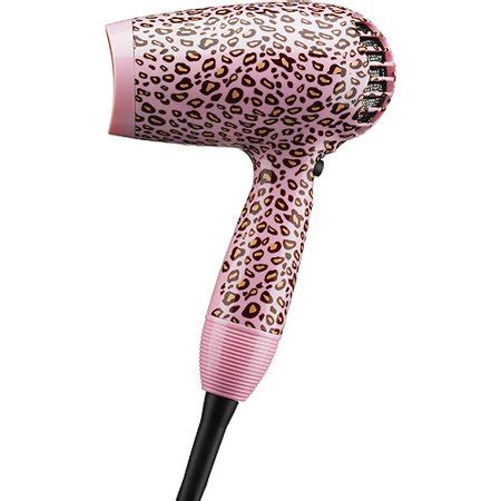 Conair Hair Dryer Pink conair pink cheetah print dryer walmart