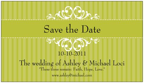 party with a k the blog wedding week save the date and