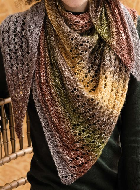 triangle pattern knitting one skein shawl knitting patterns in the loop knitting