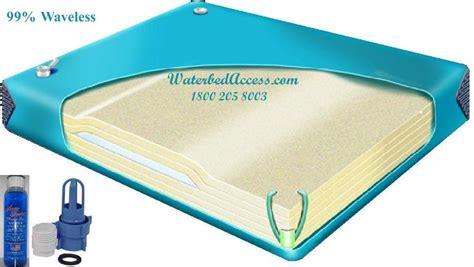 Waveless Waterbed Mattress by Size Ninety Percent Waveless Waterbed Mattress