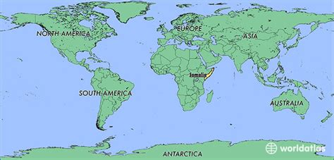 somalia on world map where is somalia where is somalia located in the world