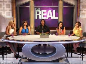 Being real adrienne far right stars on the new talk show the real