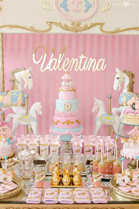 party ideas kara s party ideas enchanted carousel birthday party