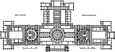 houses of parliament floor plan plan of the parliament house budapest 1885 1902 clipart etc