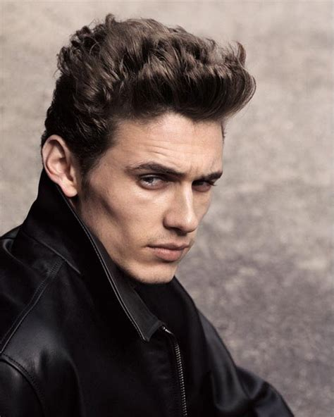 hairstyles for men with high cheekbones james franco and james dean look celebrity replacements