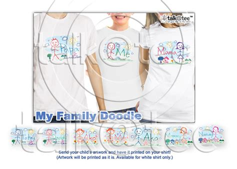doodle shirt ideas my family doodle let your tees do the talkin t shirt