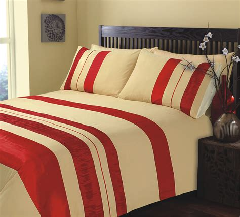 Bed Set Uk Size Ripple And Plain Stripe And Gold Duvet