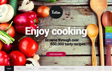 blogger resep masakan 18 template theme blog resep masakan dan kuliner